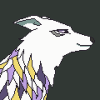 Simple pixel animation - Wolf by XCrossfangX