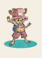Tony Tony Chopper by Erikku8
