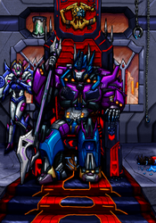 The Throne (SG Optimus Prime) by SoundBluster