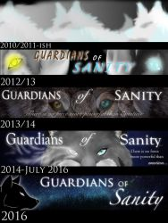 Banners through the Years by ChocolateQuill