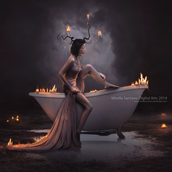 Bath Candle by MirellaSantana
