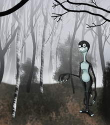 In the Misty Woods by TheDuckofIndeed