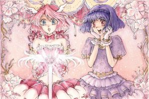 C: Elodie and Charlotte by ann4rt