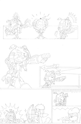 Dead is Dead - Page 5 (pencils) by FritzyArtCorner