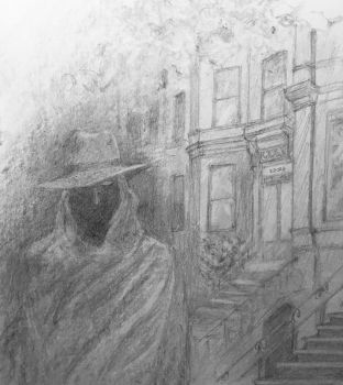 A Ghost in NYC by mezzers