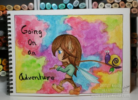 Adventure Fairy by AerynKelly13
