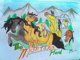 The Montana Herd Banner by N0rthernSpirit