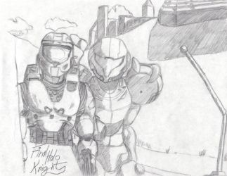 Halo Metroid- Double Team by FinalHaloKnight