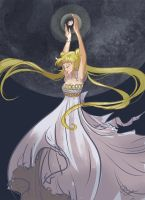 Princess Serenity by dianequach
