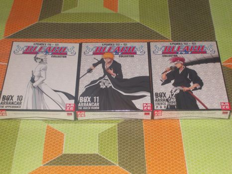 French Bleach DVD Collection box 3 by gekkodimoria