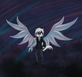 Commission: Glass Angel by Tspuun