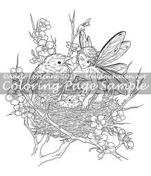 Meadowhaven Coloring Page: Get Your Own Chick! by Saimain