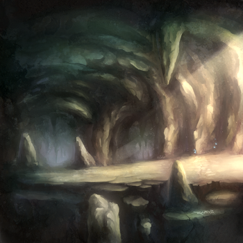 The Cave by Rathaelos