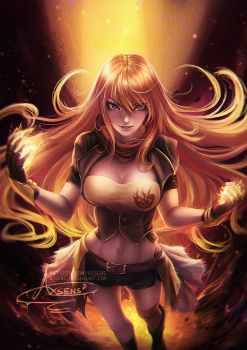 Yang Xiao Long.nsfw optional. by Axsens