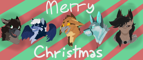 Merry Christmas! by DoggoDreamer