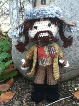Crochet Bofur the Dwarf by Zikaeqs