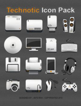 Technotic Icon Pack by Sed-rah