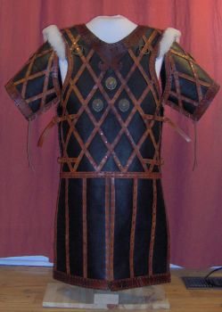Viking inspired leather armor by Laerad
