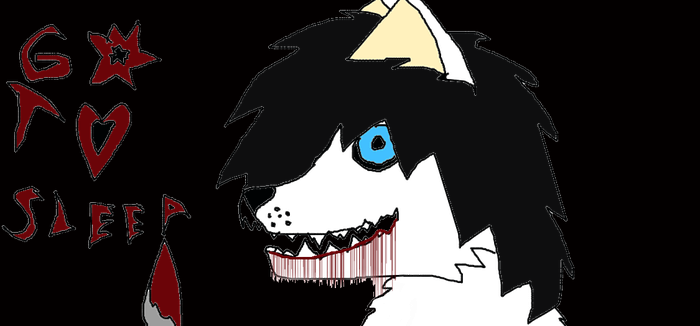 Jeff the killer mut by Sexy-Slender-Dragon