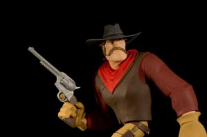 The Gunfighter-painted10 by clarkartist
