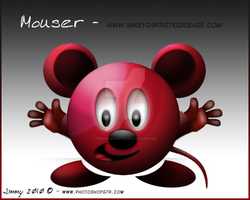 Mouser - MAD Mascot by PhotoshopGTR