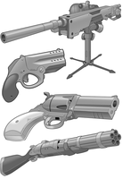 Grayscale Guns by BrianManning