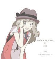 Pokemon the Series XYZ - Serena by chocomiru02