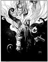 Hellboy by Andrew-Robinson