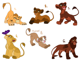 Lion adoptables 3 CLOSED by MoMo-PointAdopts