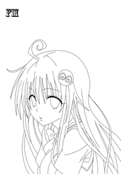 Lala Lineart 9 by FM013