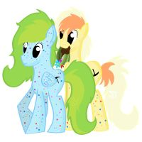 Paint Speckled Ponies Adoptables by MonkFishyAdopts