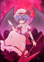 remilia scarlet by crossryou