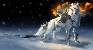 Okami - Sun Within.... by Grypwolf