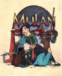 Sketchbook(Mulan fini)Color by dagracey
