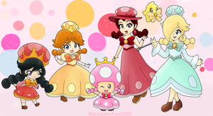 Toadette's crew by MarioSonicfans2000