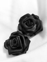 Black Satin Roses by SarahLaure
