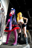 D City ROCK - Panty and Stocking by Mostflogged