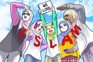 We Love ISLAM-1- by Nayzak