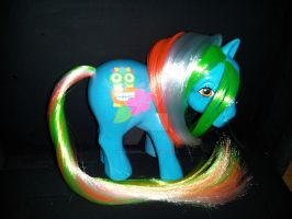 G1 My Little Pony Custom Tropical Tahiti Treat by MikeysGrrrl