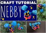 Cosmog (Nebby) Felt Plushies | Video Tutorial by gamerwhit