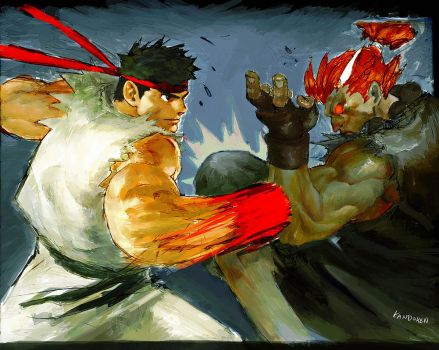 HADOU BATTLE by Kandoken