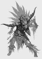 Diablo 3 Witch Doctor WIP by ShockyTheGreat