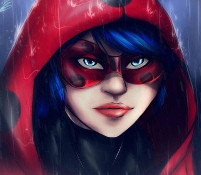 bug in the rain by MegS-ILS