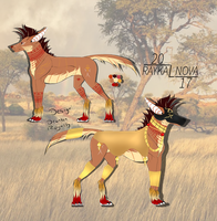 Egyptian Lethan Wolf | SOLD by DrunkenRoyalty