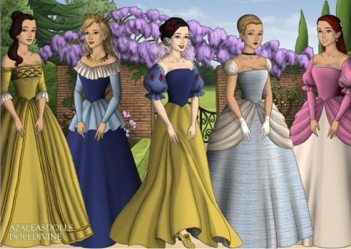 Disney Princesses by jjulie98