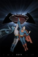 Batman/Superman Teaser Poster by topper-xt