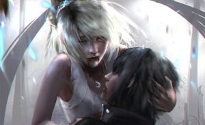 Luna and Noctis by fate-fiction