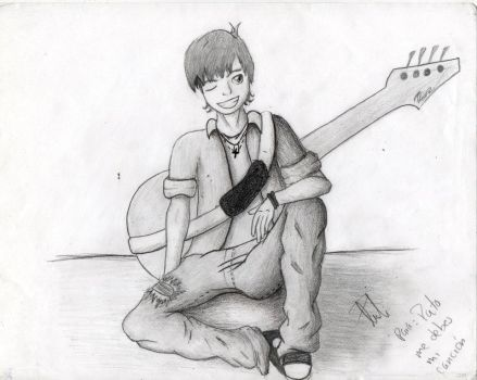 bass player by poli-on-oz