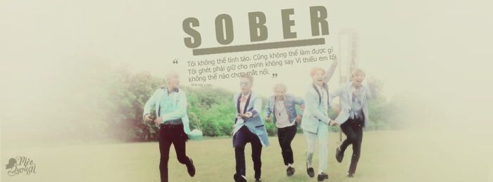 SOBER cover by shinniescorpio