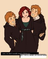 Viria and the Twins by MioneBookworm